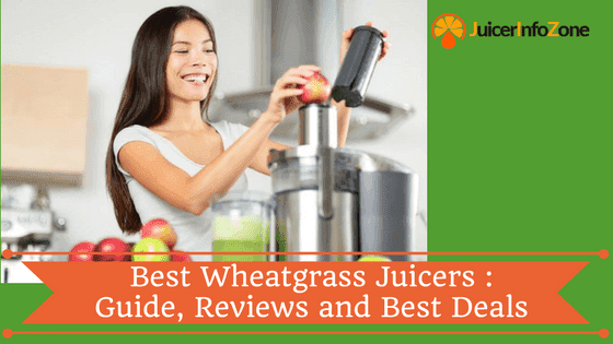 Best Wheatgrass Juicers : Guide, Reviews and Best Deals