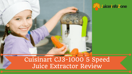 Cuisinart CJE-1000 5 Speed Juice Extractor Review