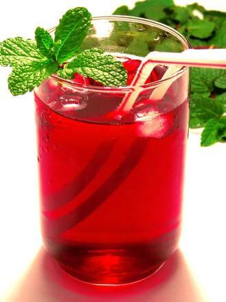 red grape drink