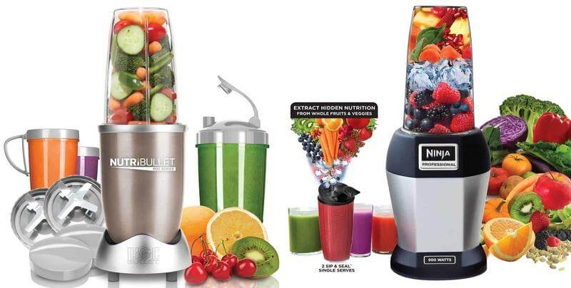 Nutribullet Vs Slow Juicer : NutriBullet vs Nutri Ninja Juicer Info Zone