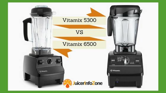 vitamix 5300 vs vitamix 6500
